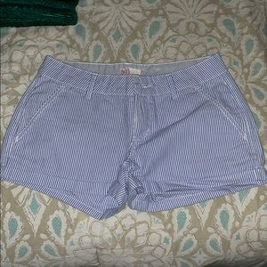 Blue white shorts